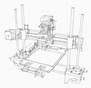 portabee-3d-printer-technical-drawing