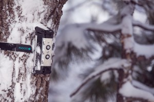 Fugoo Bluetooth Speaker -Tough with Strap Mount on SnowTree