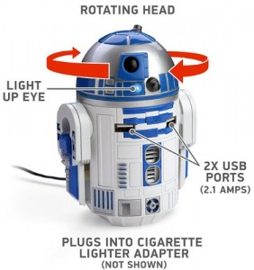 r2d2 car charger