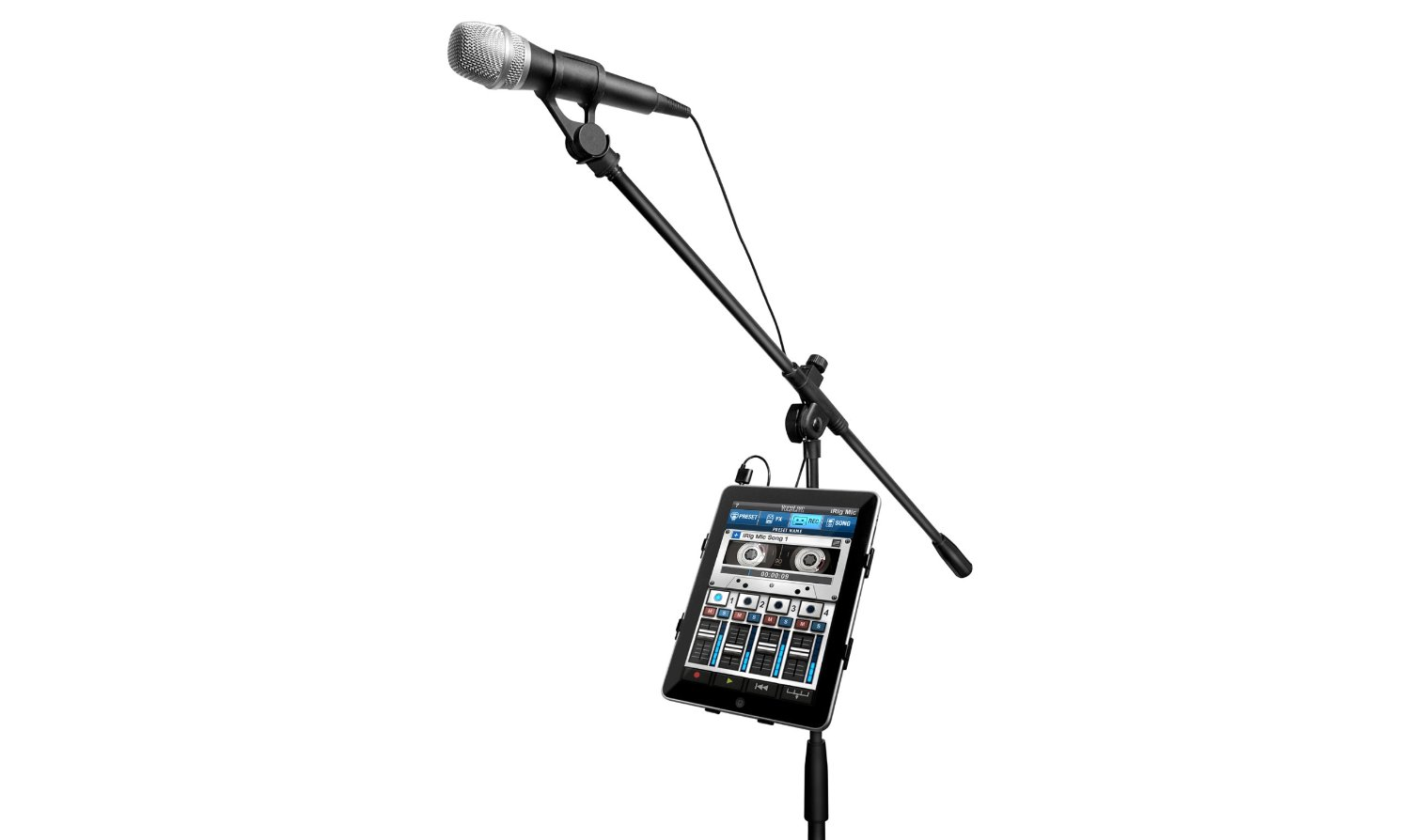dynamic stage vocal microphone for your ios devices by ik multimedia