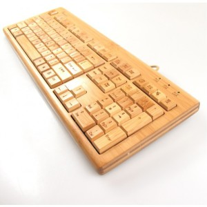 Impecca Bamboo Keyboard & Mouse 3