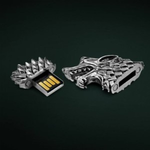 Game of Thrones Stark Direwolf USB Drive 2