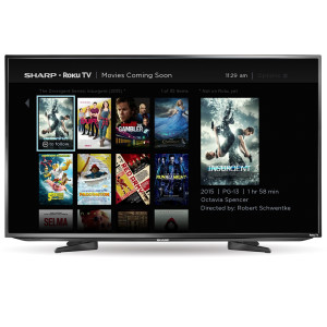 Sharp Roku TV - Movies Coming Soon