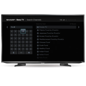 Sharp Roku TV - Search Results