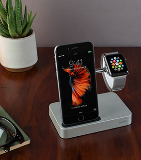 First Of Its Kind Elegant Belkin Charge Dock For Apple