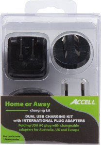 Home or Away Dual USB Charging Kit 4